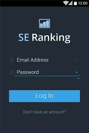 SE_Ranking_Android_App_LogIn