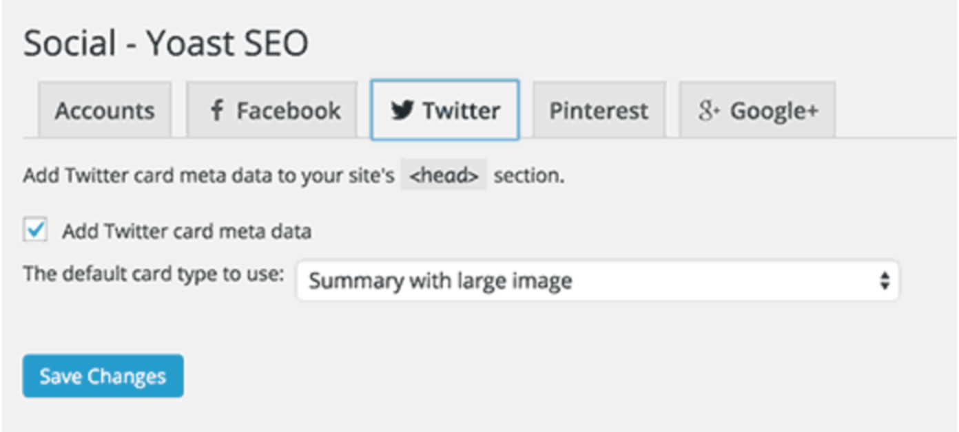 как добавить Twitter Card и Open Graph в WordPress