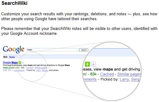 search wiki