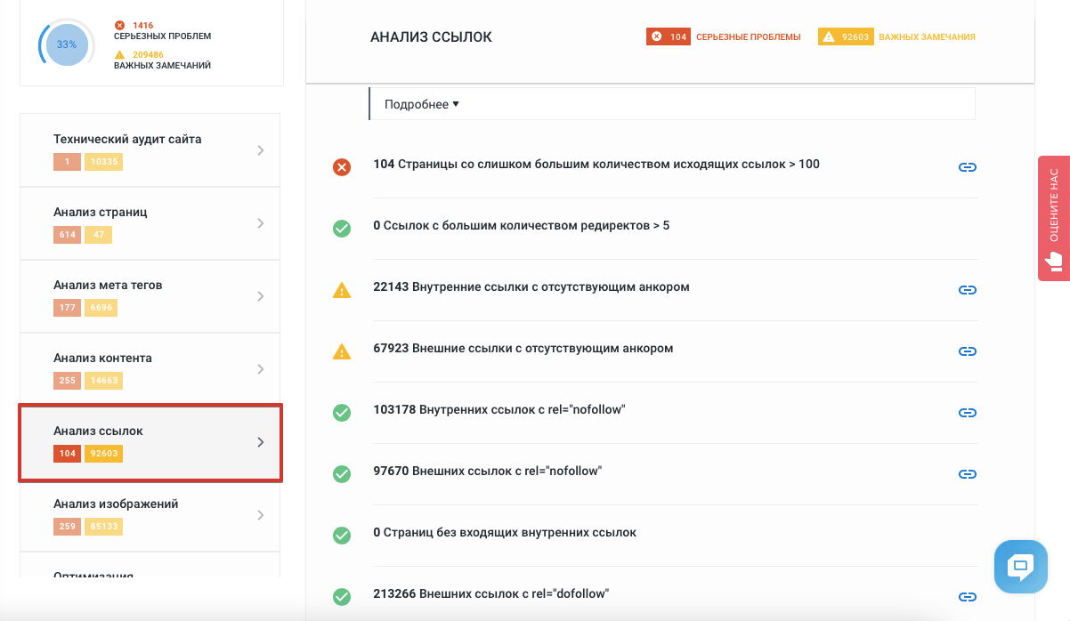 Seo внешние ссылки на сайте создание сайт через блокнот html